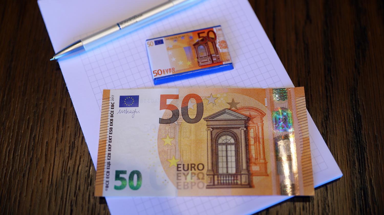 Video Voici Le Nouveau Billet De 50 Euros