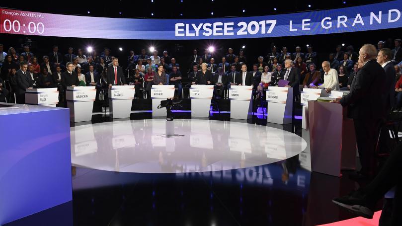 """VIDEOS. Présidentielle : sept séquences qu'il ne fallait pas rater pendant """"Le Grand Débat"""" à onze"""