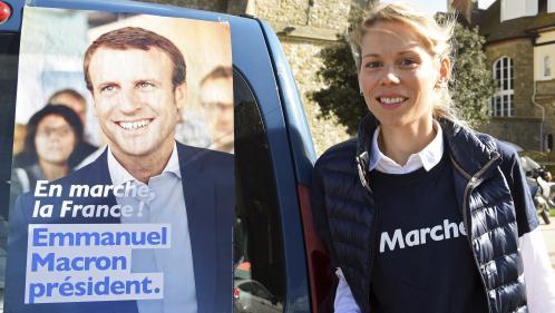 Législatives 2017 : Tiphaine Auzière, la belle-fille du président, en campagne