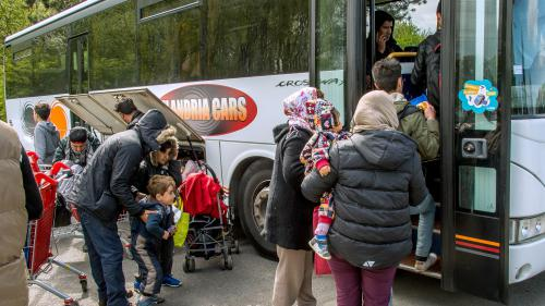 Fin de la mise à l'abri des migrants de l'ex-camp de Grande-Synthe