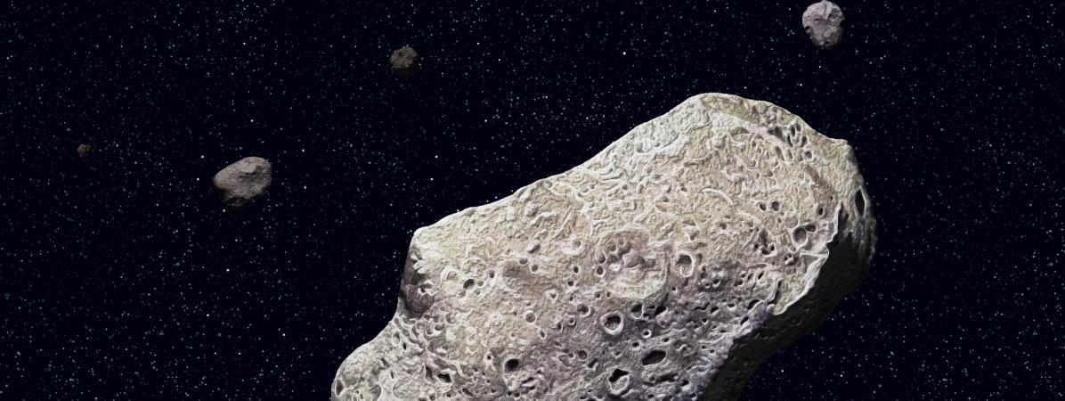 Trois choses à savoir sur l'astéroïde qui va