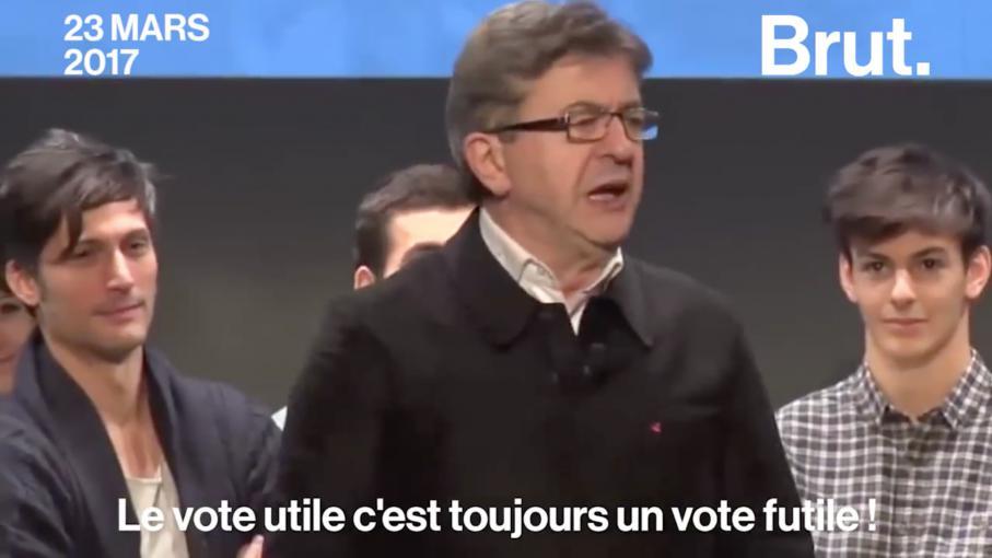 vote utile aujourdhui jean melenchon