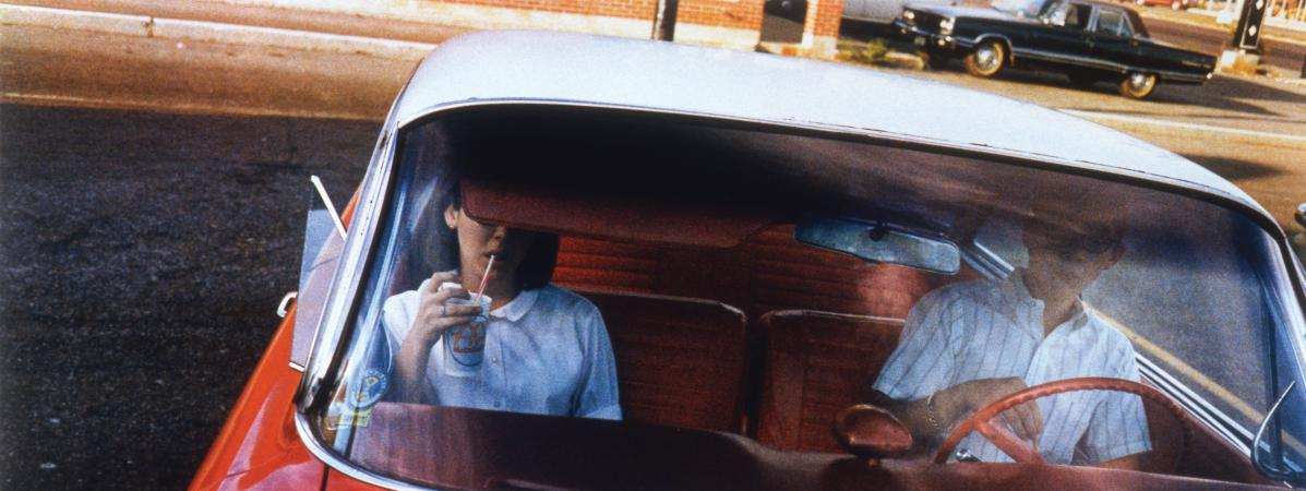 Exposition Auto Photo Fondation Cartier (Eggleston - Drive in couple)