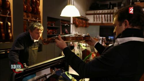 "VIDEO. ""13h15"". Le check-up du ""Vicomte de Panette"", le violon de 280 ans de Renaud Capuçon"