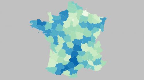CARTE. Election présidentielle : découvrez la participation au premier tour à 17heures, département par département