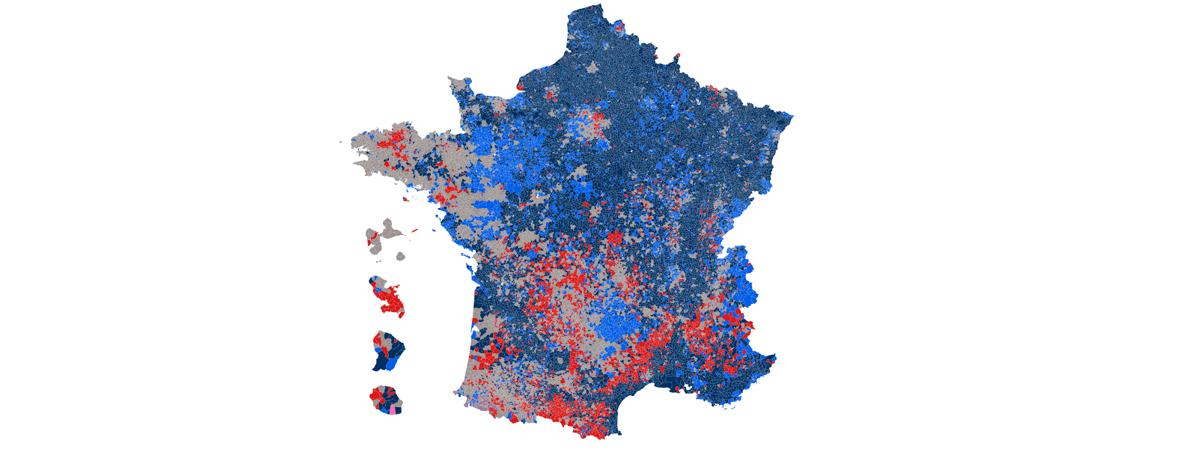 carte de france election presidentielle 2020 CARTE. Election présidentielle : découvrez les résultats du