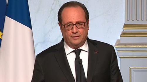 """DIRECT. Présidentielle : """"Pour ma part, je voterai Emmanuel Macron"""", déclare François Hollande depuis l'Elysée"""