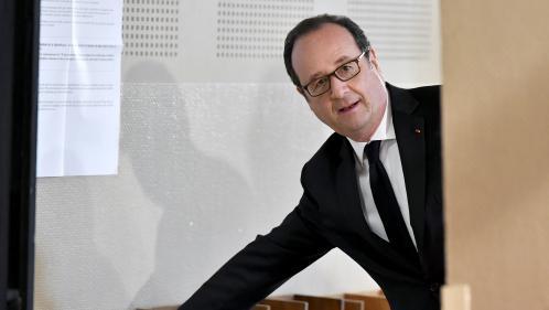 EN IMAGES. Premier tour de l'élection présidentielle : le dimanche de François Hollande vu par une dessinatrice de presse