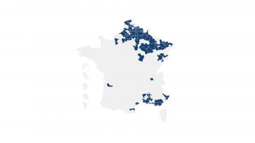 Législatives : la carte des 84 circonscriptions où le FN sera en position de force