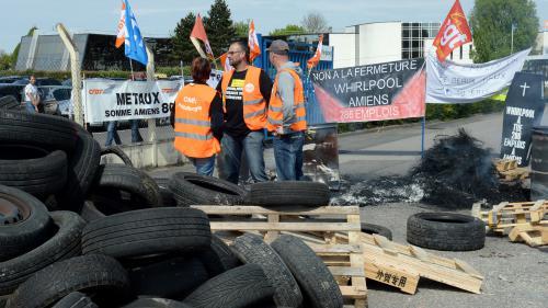 Présidentielle : les salariés de Whirlpool à Amiens divisés face à Emmanuel Macron