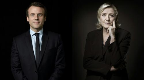 Présidentielle : l'emploi au coeur des programmes de Marine Le Pen et d'Emmanuel Macron