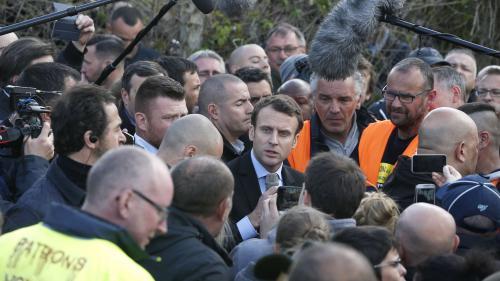 VIDEO. Macron à Amiens : l'échange avec les salariés en intégralité