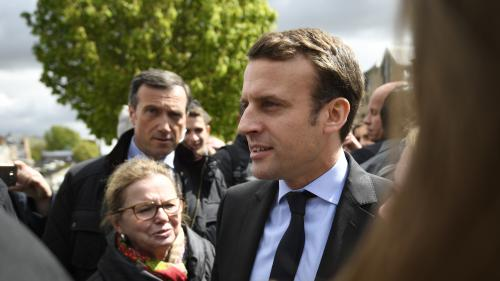 Présidentielle : Macron poursuit sa campagne malgré les tensions à Amiens