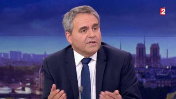 """Résultat de recherche d'images pour """"xavier bertrand JT france 2 26 avril"""""""