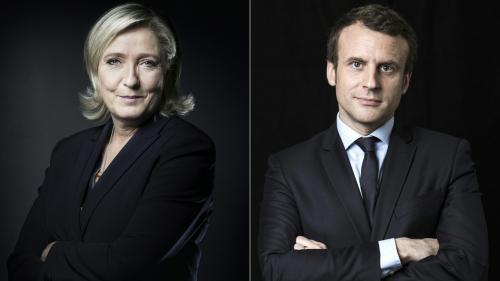 """VIDEO. Hollande """"fainéant"""", Chirac """"généreux""""... Comment Macron et Le Pen voient les présidents de la Ve République"""