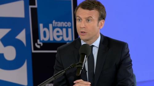 REPLAY. Présidentielle : regardez en intégralité l'interview d'Emmanuel Macron, invitée de France 3 et France Bleu