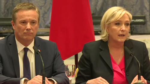 DIRECT. Présidentielle : Marine Le Pen nommera Nicolas Dupont-Aignan Premier ministre si elle est élue. Regardez leur déclaration commune