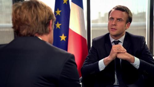 """VIDEO. """"Marine Le Pen manipule la colère"""" des Français : regardez l'interview d'Emmanuel Macron sur France 2"""