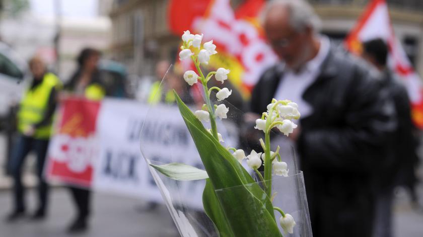 1ef0f2014a8 Le 1er mai est traditionnellement nbsp un jour de manifestations pour  défendre les droits des travailleurs.
