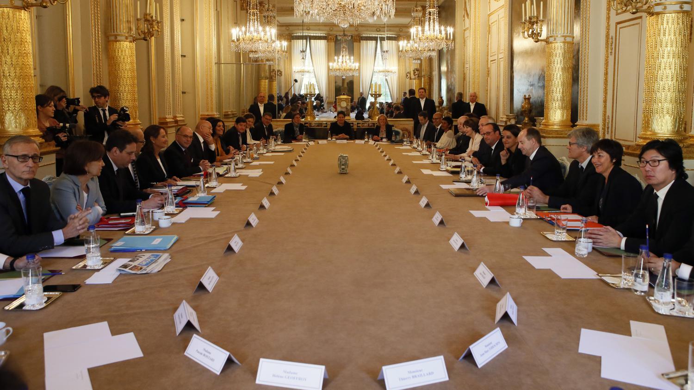 video  dernier conseil des ministres pour fran u00e7ois hollande et le gouvernement