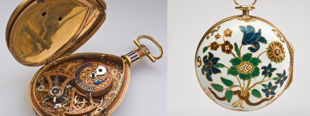 sélection spéciale de sortie de gros riche et magnifique Les montres émaillées, des bijoux précieux miniatures à ...