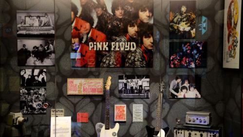 """EN IMAGES. L'exposition """"Pink Floyd, Their Mortal Remains"""" à Londres"""