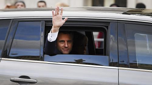 Quel est le programme d'Emmanuel Macron pour sa première semaine à l'Elysée ?