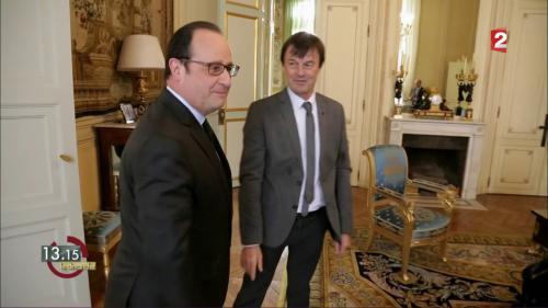 """VIDEO. """"13h15"""". """"C'est toujours plus difficile de dire non"""", affirmait Nicolas Hulot… début 2016"""
