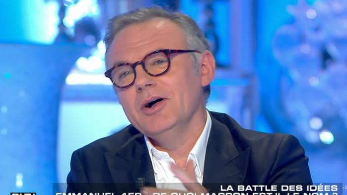 """VIDEO. L'éditorialiste Eric Brunet taxe Emmanuel Macron de """"gérontophile"""""""