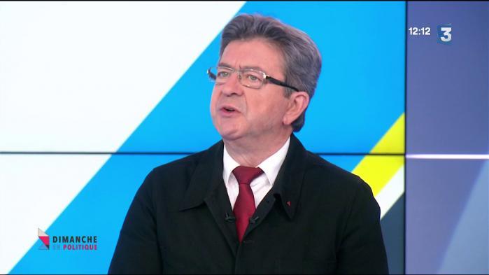 """VIDEO. Jean-Luc Mélenchon prédit que Nicolas Hulot quittera le gouvernement """"dans six mois"""""""