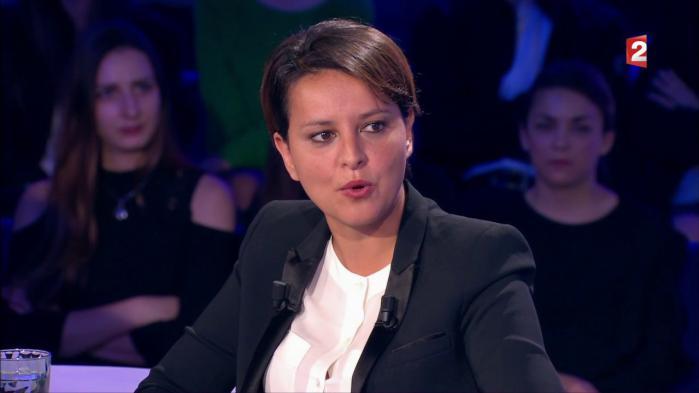 """VIDEO. """"On n'est pas couché"""" : Najat Vallaud-Belkacem tacle le nouveau gouvernement"""