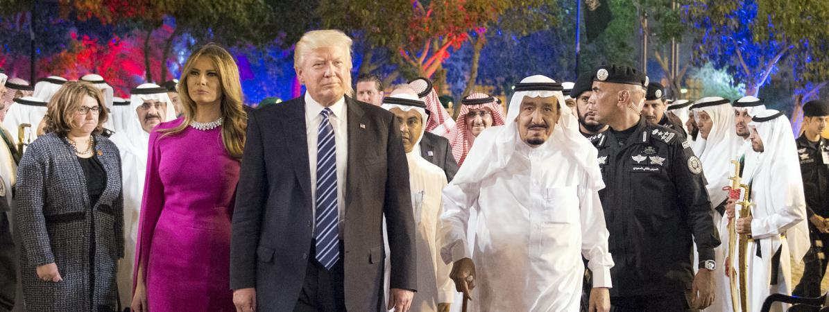 Discours sur l'islam, gros contrats et danse du sabre : ce qu'il faut retenir de la visite officielle de Donald Trump en Arabie saoudite