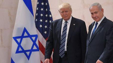Trump cible l'Iran et pousse Israéliens et Palestiniens à la paix