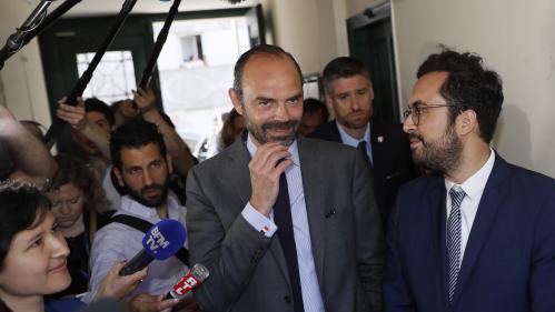 """Affaire Richard Ferrand : Edouard Philippe a """"confiance"""" en son ministre, mais les législatives seront """"le juge de paix"""""""