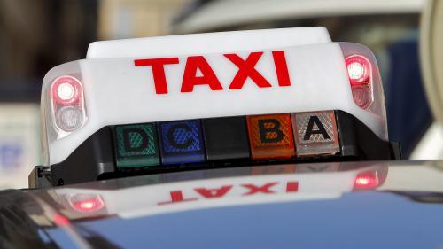"""Les taxis manifestent à Marseille après des incidents avec Uber : """"On demande au préfet et aux services de l'État de répondre de manière ferme"""""""