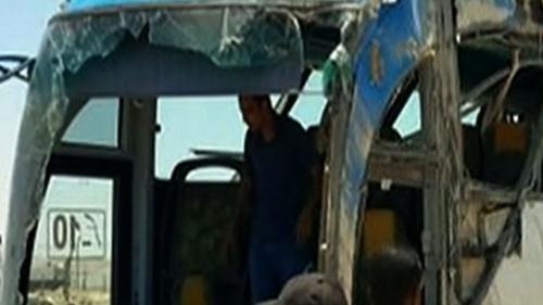 VIDEO. Egypte : 26 morts dans l'attaque d'un bus de pèlerins coptes
