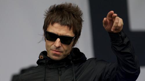 Liam Gallagher en concert à Manchester au profit des victimes de l'attentat