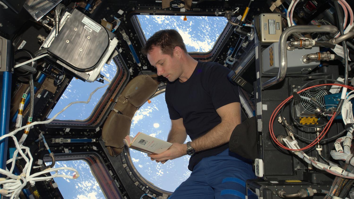 Infographie quels peuvent tre les effets du voyage dans l 39 espace sur le corps de thomas pesquet - Les sinsin de l espace ...