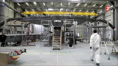 VIDEO. Armel Le Cléac'h construit un trimaran de 32 mètres pour faire le tour du monde en 50 jours