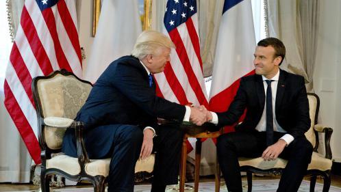 """Macron : """"Ma poignée de main avec Trump, ce n'est pas innocent. C'est un moment de vérité"""""""