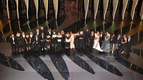 Revivez la cérémonie de clôture du 70e festival de Cannes