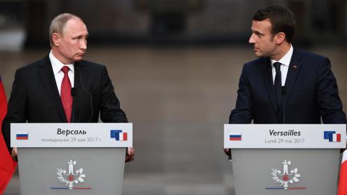 Rencontre entre Poutine et Macron : ce qu'il faut retenir