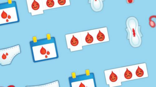 """Une ONG propose d'ajouter un émoji """"règles"""" pour """"briser le tabou des menstruations"""""""