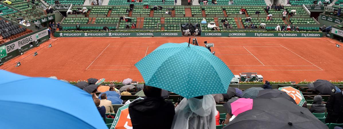 M t o roland garros est il le festival du parapluie - Le tennis de table est il un sport ...