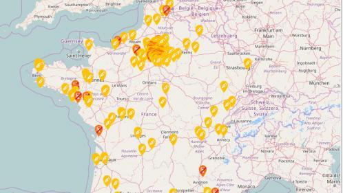 CARTE. Grève des transporteurs de matières dangereuses: y a-t-il encore du carburant près de chez vous?