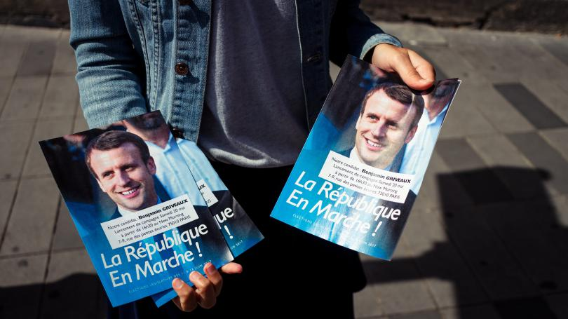 """Législatives : En marche ! pourrait obtenir plus de 395 sièges à l'Assemblée, selon un sondage Ipsos pour """"Le Monde"""""""