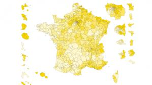 CARTE. Législatives : la France de l'abstention au premier tour