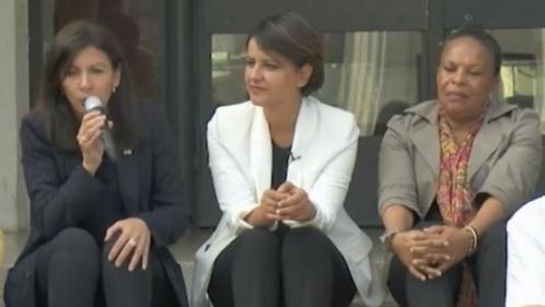 Législatives 2017 : Hidalgo et Taubira aux côtés de Najat Vallaud-Belkacem