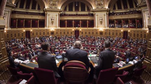 INFO FRANCEINFO. Une trentaine de parlementaires s'apprêtent à constituer un groupe En marche ! au Sénat