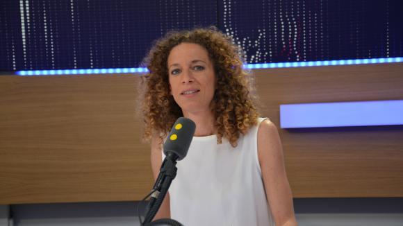 Charlotte Girard, coresponsable du programme de La France Insoumise, invitée de franceinfo jeudi 15 juin.